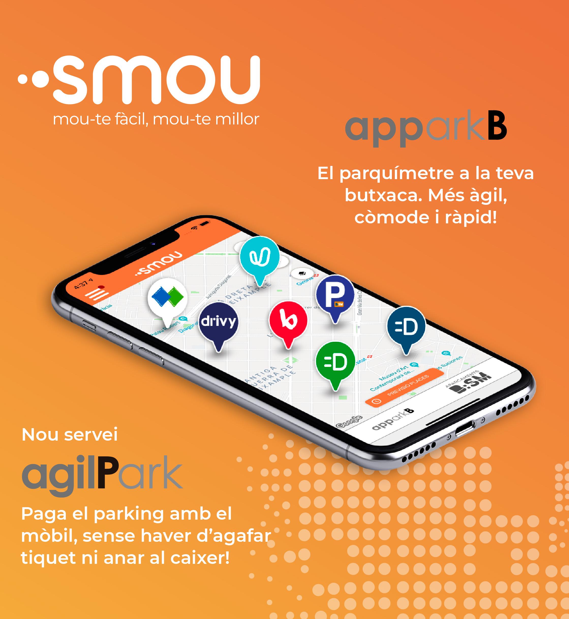 L'app Smou de l'Ajuntament de Barcelona segueix creixent i integra les funcionalitats del Bicing